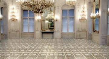 floor tiles for living room geometrical tiles