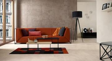 floor tiles for living room simple plain white tiles