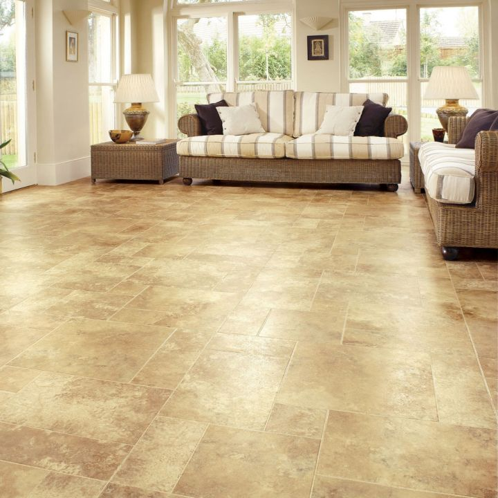Floor tiles for living room small marble tiles for Small room flooring ideas
