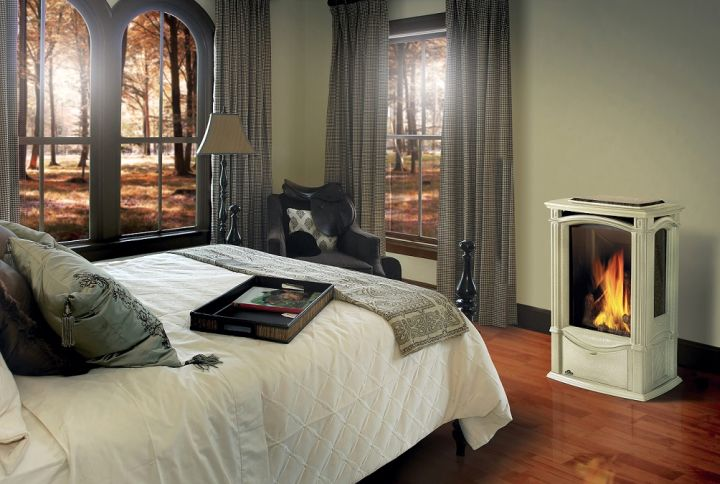 gas fireplace bedroom small portable looking