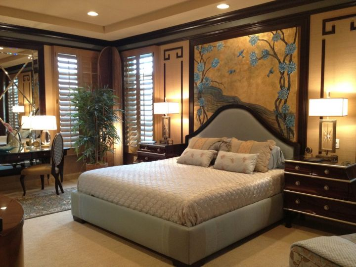 gorgeous Asian bedroom
