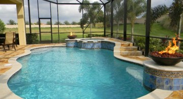 gorgeous enclosed swimming pool