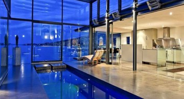 gorgeous indoor lap pool