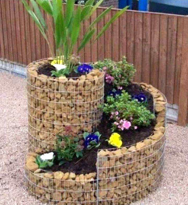 18 simple small rock garden designs for Simple small garden ideas
