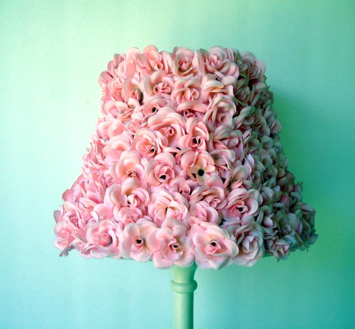 gorgeous texture Rosette lamp shade