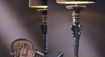 gothic classy huge floor lamp