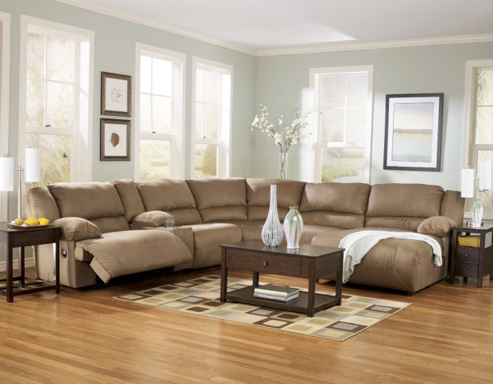 Great room furniture layout l shaped sofa for Great room sectional
