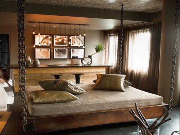 hanging elegant beds