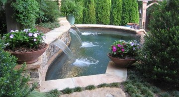 hidden pool for small yard