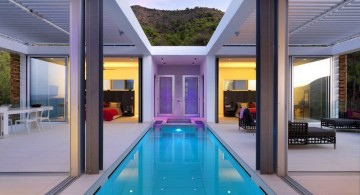 homes with indoor pools between sitting rooms