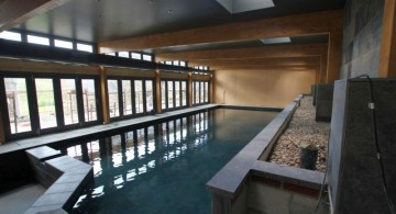 homes with indoor pools free formed