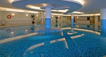 homes with indoor pools in the basement