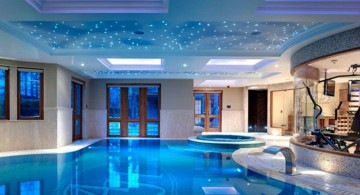homes with indoor pools with indoor gym