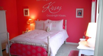 hot pink room for small space