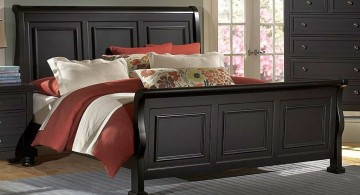 how to make a sleigh bed contemporary