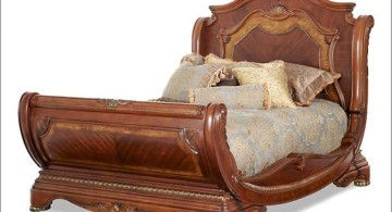 how to make a sleigh bed curved