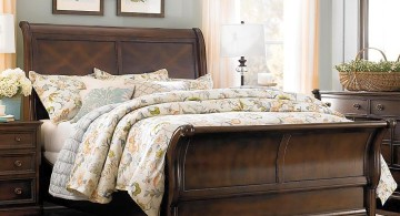 how to make a sleigh bed diamond panel