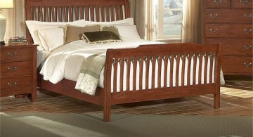 how to make a sleigh bed minimalist rustic