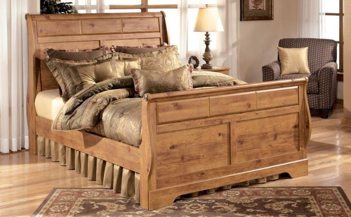 17 Majestic Looking Sleigh Bed Designs