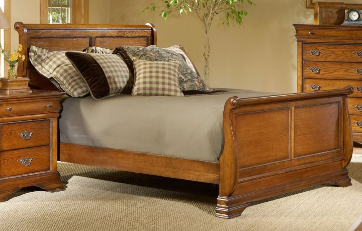 how to make a sleigh bed simple