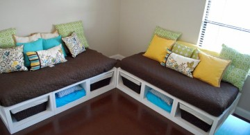 how to make daybed twins with storage