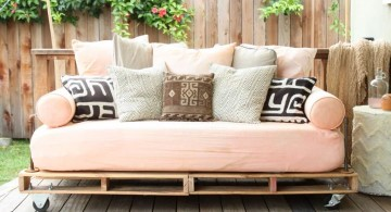 how to make daybed with repurpose crate plate