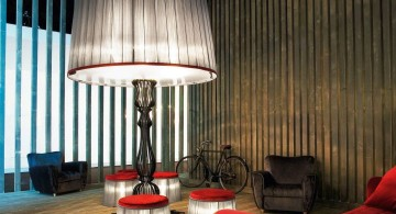 huge floor lamp for sitting room