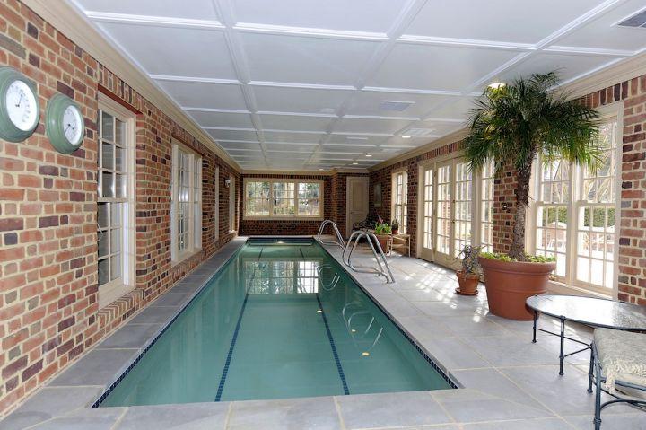 17 Contemporary Indoor Lap Pool Designs Ideas