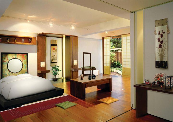 japanese themed room | arlene designs