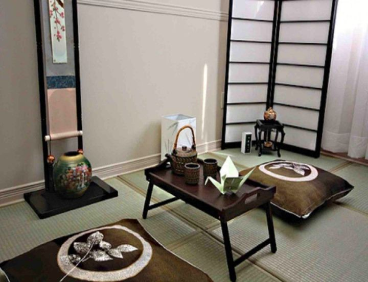 17 inspirational japanese theme room interior design ideas for Living room ideas zen