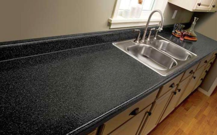 laminated cheap countertop solution
