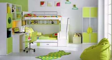 lime green bedroom for teenage room
