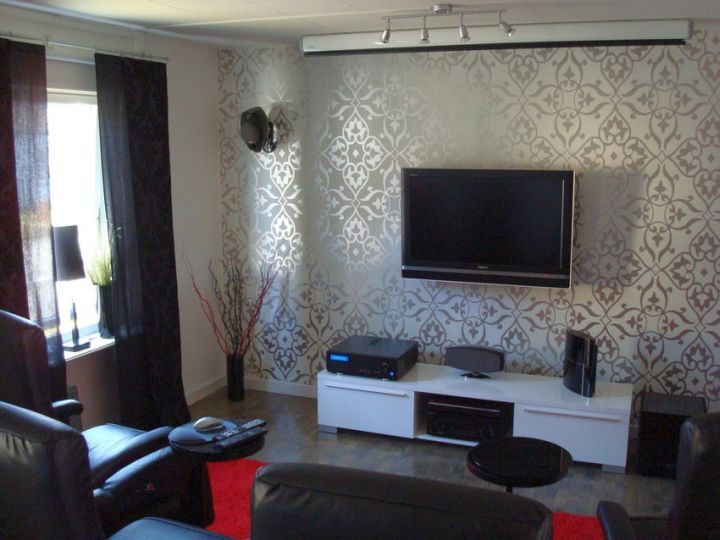 living room tv ideas on a wall panel