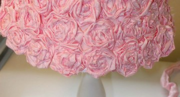 lovely Rosette lamp shade