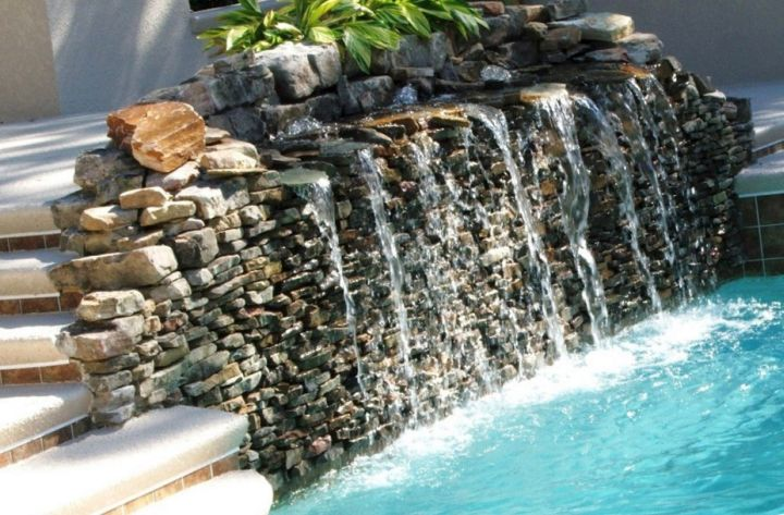 lovely pools with waterfalls