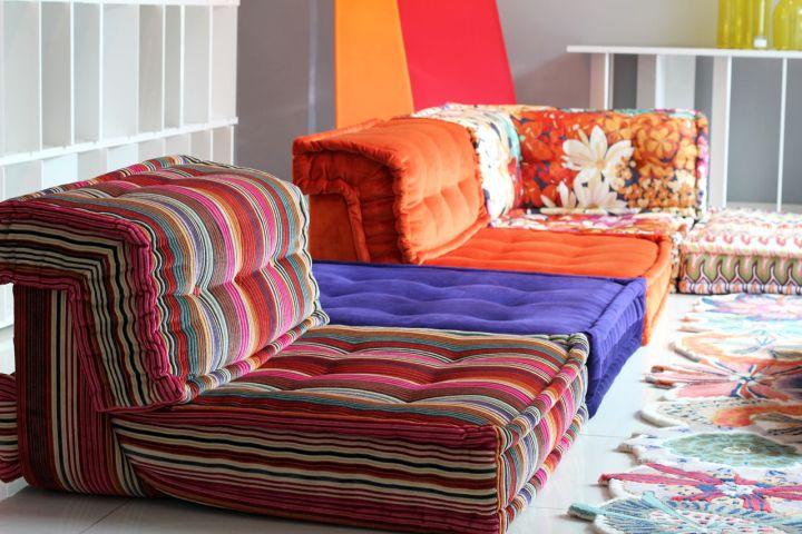 lovely simple mah jong sofa