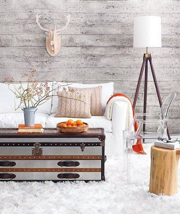 lovely trunk coffee table