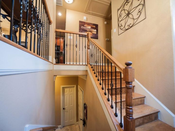 lovely wood staircase