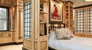 luxurious Asian bedroom