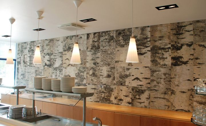 marbled unique wall panels