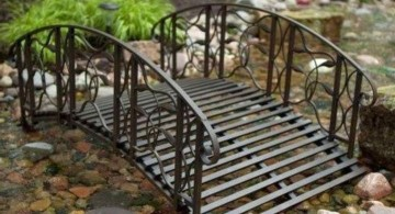 metal Japanese garden bridge plans