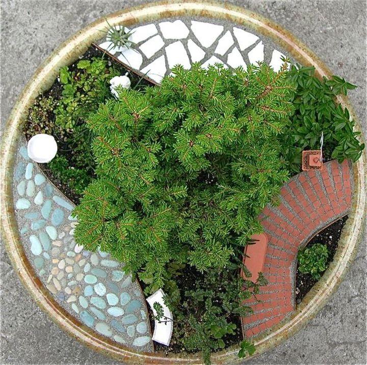 mini japanese garden in a three ways