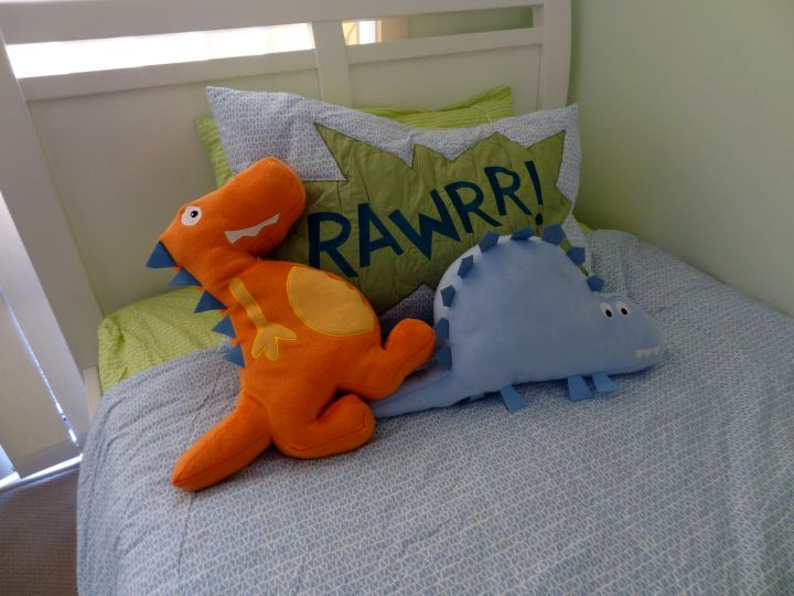Minimalist Dinosaur Themed Bedroom
