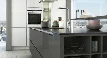 minimalist Grey Kitchen Ideas