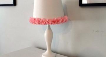 minimalist Rosette lamp shade