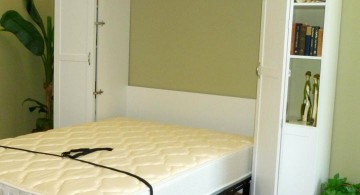 minimalist basic murphy bed unit