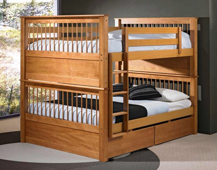 minimalist bunk bed for adults