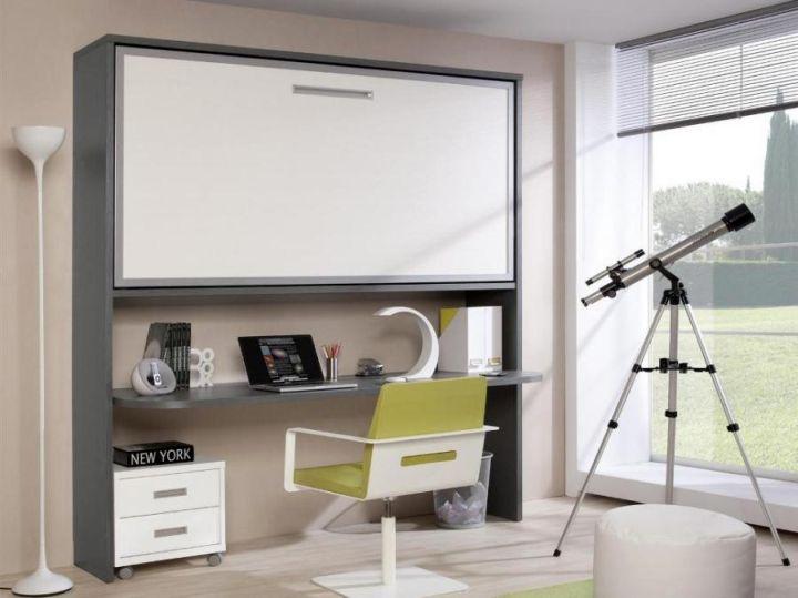 minimalist modern Desk bed combo
