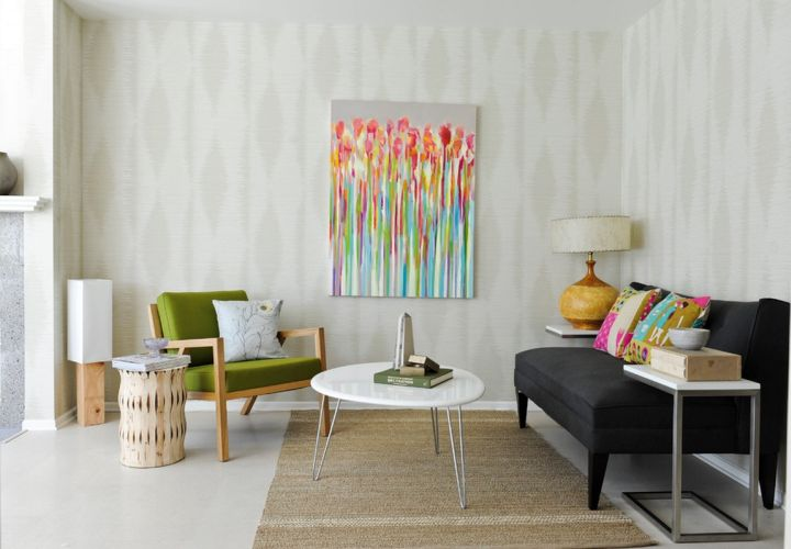 minimalist retro modern decor