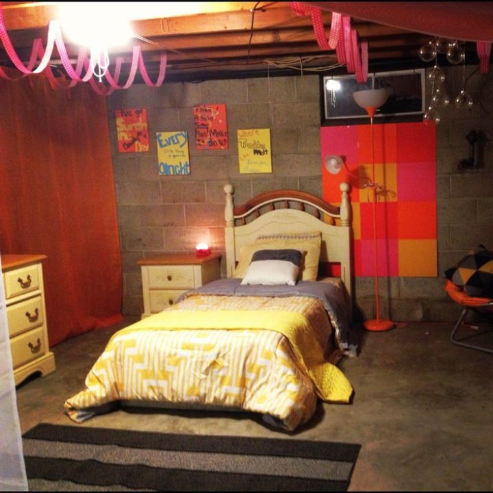 17 appealing bedroom basement ideas for guest room deluxe design comfortable basement bedroom decosee com